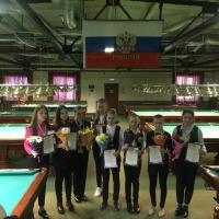 победители и призеры. девушки