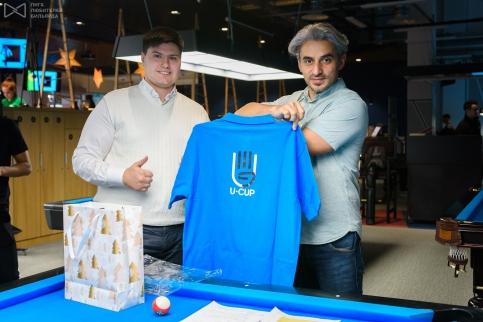У U-CUP теперь есть и свои фирменные футболки