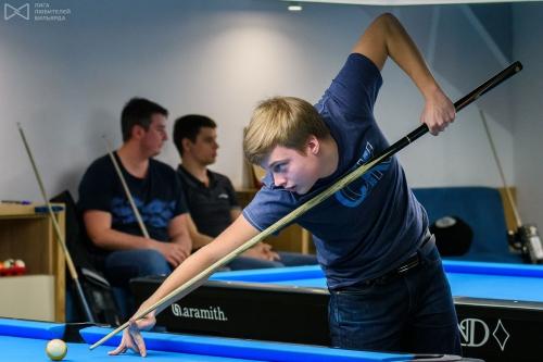 Благодаря Гранд Ивенту можно было лицезреть суперзвезду российского снукера Ивана Каковского