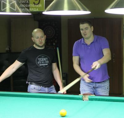 Евгений Томчук и Игорь Игдал — постоянные участники парных турниров в «Т-35»