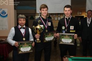 Победители Кубка ПФО 2017: Владимир Ильин, Ильдар Вахитов, Максим Кочкин