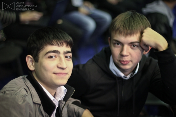 Армен Габриелян и Александр Муравьев