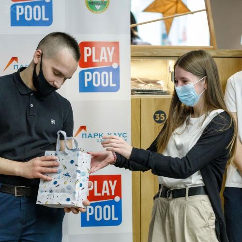 День турнира совпал с Днем рождения Ивана Соломатина. Подарки для именинника