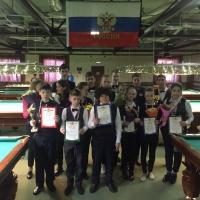 призеры соревнований: Юноши до 16 и мальчики до 13 лет