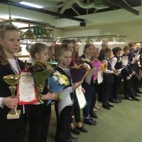 Награждение победителей. Митасова 2018